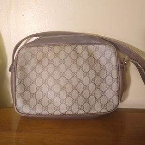 Auth Gucci Crossbody Vintage, Piping Wear